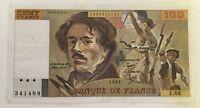 Billet De Banque 100 Francs Delacroix De 1983 J.68 Voir Photos