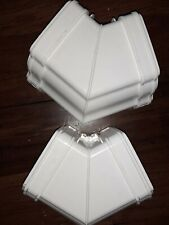 Marley Classic RCA Ogee Gutter 120 DEGREE EXTERNAL ANGLE White SPECIAL X 2