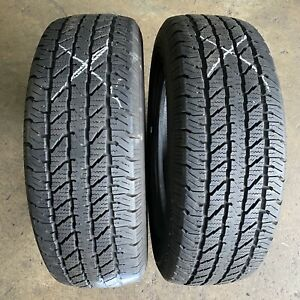 215/70R16 - 2 used tyres COOPER DISCOVERER H/T : $80.00