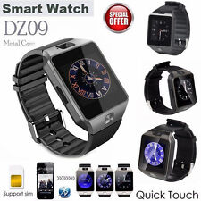 Dz09 Bluetooth Wrist Smart Watch Phone Camera Sim Card For Android Ios iPhone