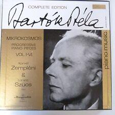 vinyl lp record COMPLETE EDITION BELA BARTOK Mikrokosmon 1-6Zempli Szucs lpx