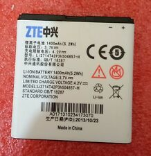 1pcs New Battery For ZTE U830 U812 V788D U788 Li3714T42P3h504857-H 1400mah