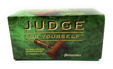 Judge For Yourself Real Life Courtroom Dramas 1996 Pressman-Game Complete It/113