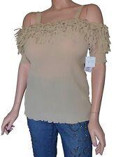 Plus Size 2X 22 Womens Clothes Cold Shoulder  Ladies Top Blouse NWT New