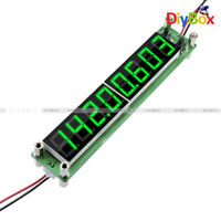 Signal Frequency Counter RF 0.1-60MHz 20MHz ~ 2.4GHz Green Cymometer Tester