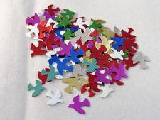 100 Tauben Streuelemente Streudeko Kartengestaltung Basteln Multicolor  ca:10 mm
