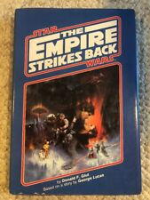 Star Wars The Empire Strike Back Vintage Book Hardcover 1980 Unused W/DJ
