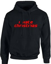 I Hate Christmas Xmas Unisex Hoodie 10 Colours (S-5XL) by swagwear