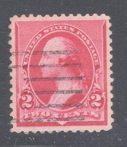 US STAMP #220 — 2c WASHINGTON - 1890 - USED - GRADED 90