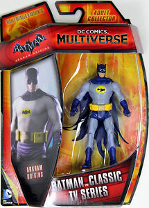 "DC Multiverse ~ 3 3/4"" BATMAN 1966 ACTION FIGURE ~ Arkham Origins ~ IN STOCK"