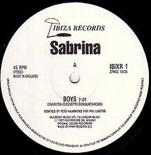 Sabrina - Boys (Summertime Love) Re-Mix By Pete Hammond