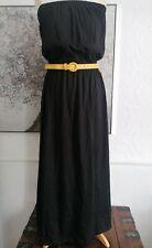 BNWT-black board angels Strapless Maxi Dress-size 16 Jersey soft feel