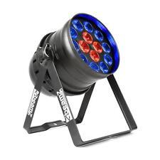LED Scheinwerfer Strahler DJ Bühnen Lichteffekt PAR 64 6in1 RGBW-UV 200W DMX