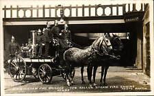 Birmingham Fire Brigade Series by Austin. 750 Gallon Steam Fire Engine.