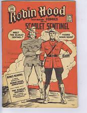 Robin Hood Comics V2 #3 Anglo American 1943 CANADIAN EDITION