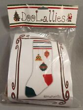 DooLallies Knitted Stocking Kit Ornaments