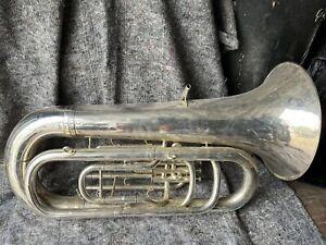 Boosey & Hawkes Imperial Tuba with Case - Read Description