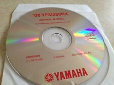 Yamaha YFM250RX YFM250 RX 2008 Workshop Service manual manuel atelier  CD pdf