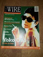 WIRE MAGAZINE ISSUE 146 ( APRIL 1996 ) YOKO ONO MARK STEWART MILLE PLATEAUX