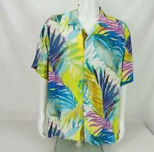 NEW Jams World Shirt Hawaiian Button Down Short Sleeve Men's XL