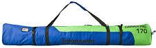 """BRUBAKER Ski Bag Carver Pro 2.0 - 170 cm (66 7/8"""") - Green/Blue"""