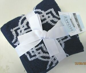 SET OF 4 SUPER ABSORBENT 100% COTTON WASHCLOTHS...2 COLORS TO CHOOSE