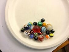 Vintage Lot Of Marbles Mixed Odd
