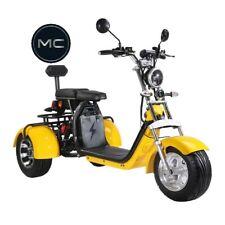 E-Scooter Coco Trike Bike Dreirad 60V 2000 Watt 2x12Ah Akkus bis zu 70 km
