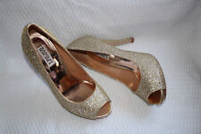 BADGLEY MISCHKA HUMBIE II GOLD GLITTER #8.5 0