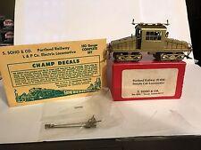 * HO Scale BRASS * Steeple Cab Locomotive * Portland Railway # 1400 * S. SOHO CO