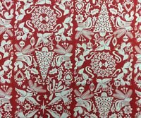 AH327 Paloma Navidad Paper Cut Christmas Tree Spanish Style Cotton Quilt Fabric