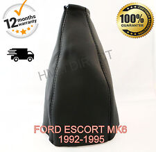 FORD ESCORT MK6 RS COSWORTH 1992-1996 GENUINE ITALIAN LEATHER GEAR GAITER NEW