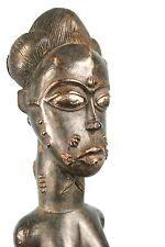 Art Africain - Ancien Epouse Mystique Blolo Bla Baoulé - Real Baule Item - 48Cms
