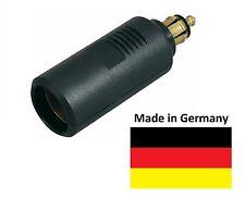 Normsteckdosen Adapter - DIN Normstecker auf Zigarettenanzünder 12Volt - Auto