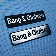 BANG & OLUFSEN - Metallic Badge Sticker Set - 2 pieces