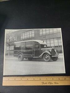1930s Fire Department Photograph Signal Canteen Trenton NJ