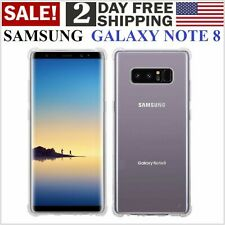 Estuche Funda A Prueba de Golpe Case Cover Para Samsung Galaxy Note 8 Clear Hot