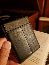Authentic Dunhill Genuine Leather Business & Credit Card Case with insert