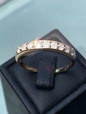 9ct Gold 0.50ct Diamond Eternity Ring Size R