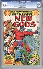 NEW GODS #10 - CGC 9.6 - 1971 / MOVIE COMING SOON!