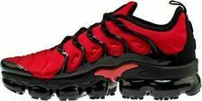 Men's Nike  Air VaporMax Plus Running Shoes red/Black