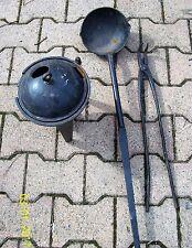 ancien matériel de fonderie travail du métal ferronnerie objet de métier