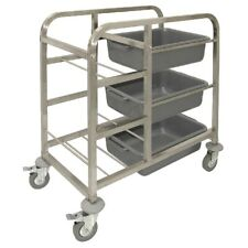 More details for vogue stainless steel bussing trolley