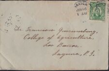 PHILIPPINES(US) 193x? domestic COVER @D5215