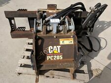 "Caterpillar Cat PC205 18"" Cold Planar Asphalt High Flow Bobcat Skidsteer"