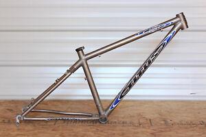 """Titus HCR Titanium Mountain Bike Frame 15""""/Small Disc Hardtail Made in USA"""