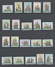 Mozambique Portugal Colonial | 1963 | Portuguese Ships | Complete MNH OG Series