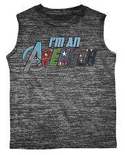 I'm An Avenger Tank Top T-Shirt Marvel Superheroes - Boys' M 5/6 - New w/ Tags!