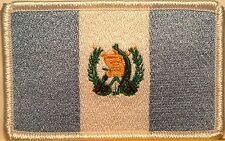 GUATEMALA Flag Embroidery Iron-On Patch  Tactical Emblem White Border