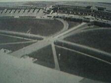 book item 1939 - picture aerial view hamburg airport